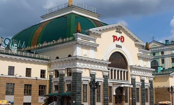 ЖД Вокзал ЖД вокзал Красноярск-Пассажирский